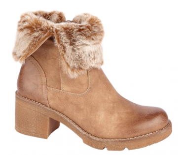 Alternative Stores -Tan Brown Ankle Boot