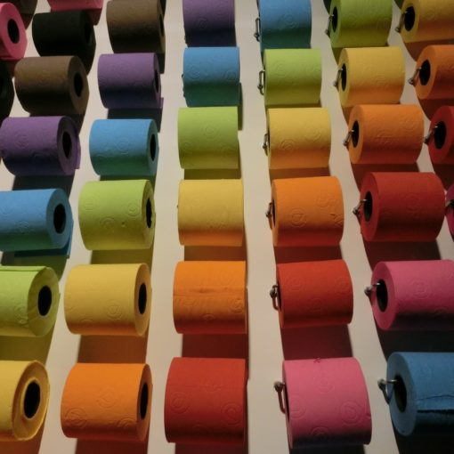Colourful Toilet Paper