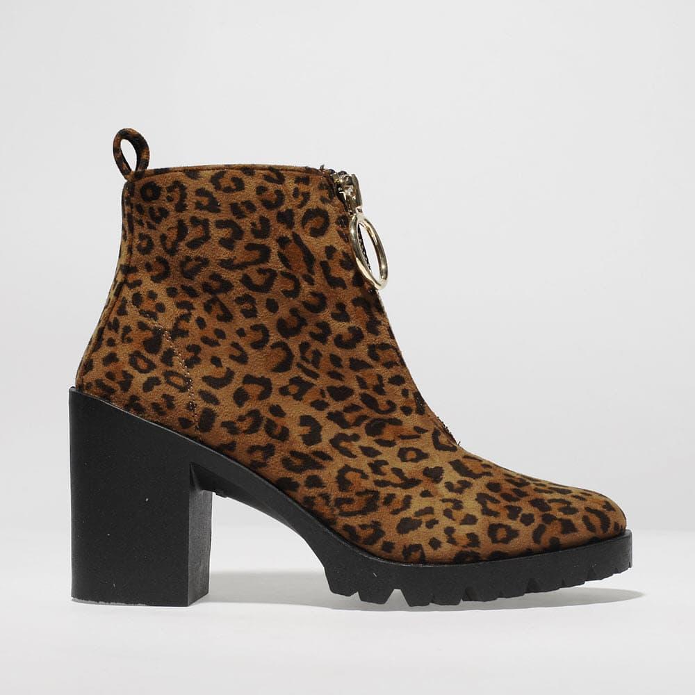 Schuh Leopard Print